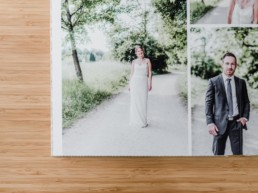 Ein hochwertiges Hochzeitsalbum bekommt ihr bei eurer Hochzeitsfotografin Veronika Anna Fotografie mit den schönsten Hochzeitsfotos von euch.