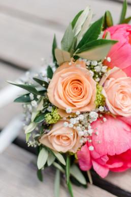 Brautstrauß auf der Hochzeit Leon und Marie in Tegernsee