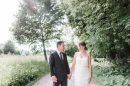 Professionelles Fotoshooting mit Gregor und Lena für ihr Hochzeitsalbum in München