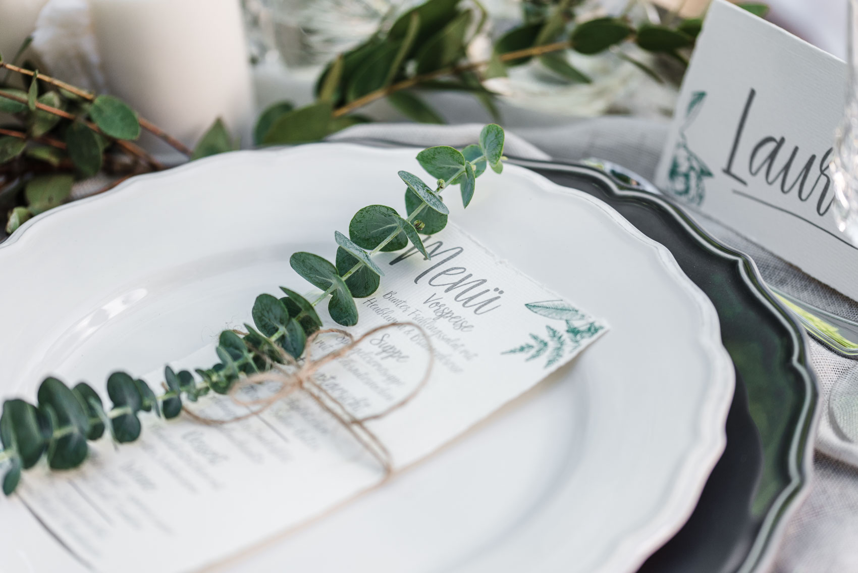 Natural Wedding Green Wedding Inspiration