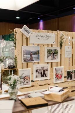 messestand von hochzeitsfotograf Veronika Anna Fotografie auf dem Wedding Festival in mallersdorf-pfaffenberg zwischen Straubing und München