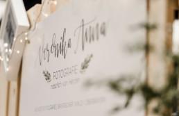 messestand von hochzeitsfotograf Veronika Anna Fotografie auf dem Wedding Festival in mallersdorf-pfaffenberg zwischen Straubing und München - logo