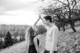 Paarshooting mit Hochzeitsfotograf Veronika Anna in Straubing im Bayerischen Wald