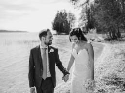 Brautpaarshooting bei einer Hochzeit am Starnberger See bei Muenchen fotografiert von Hochzeitsfotografin Veronika Anna Fotografie aus Straubing.