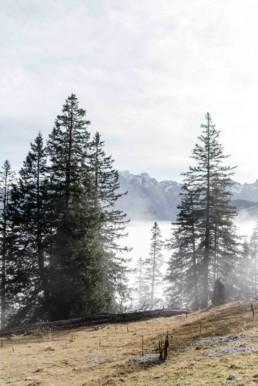 Aufnahme in den Bergen bei Garmisch von Veronika Anna Fotografie aus Straubing.