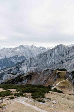 Berge Aplspitze Garmisch, fotografiert von Veronika Anna Fotografie aus Niederbayern.