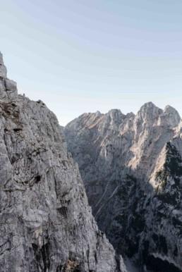 Gebirge Garmisch. Bergtour fotografiert von Veronika Anna Fotografie