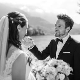 Pärchenfoto Hochzeitsfotograf Kochelsee