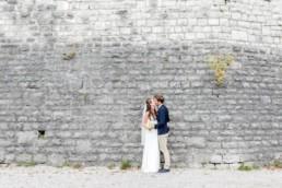 Romantische Paarfotos von Hochzeitsfotografin Veronika Anna Fotografie, aufgenommen an einer Herbsthochzeit am Kochelsee. Hochzeitsfotograf Kochelsee