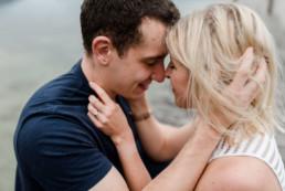 Verlobungsfotos am Kochelsee von Veronika Anna Fotografie.