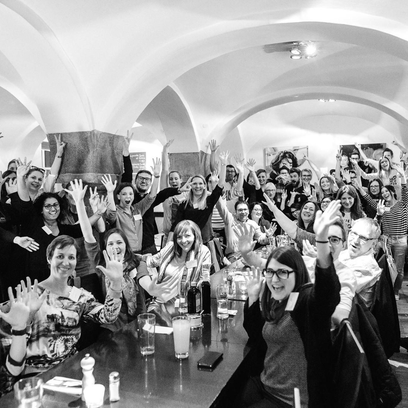 Gruppenfoto Wedding Meet Up Straubing