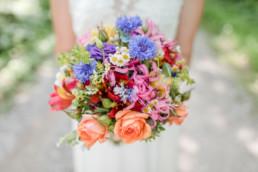 Hochzeit Brautstrauß Hochzeitsfotografin Veronika Anna Fotografie