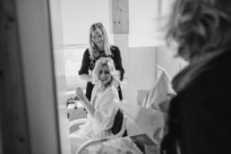 Styling für die Braut