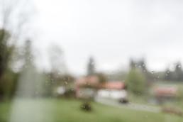 Ein paar Regentropfen am Hochzeitstag