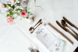 Tischset - Hochzeitspapeterie und Floristik