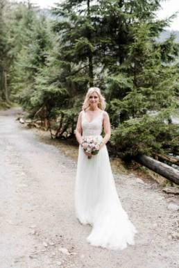 Brautshooting im Wald