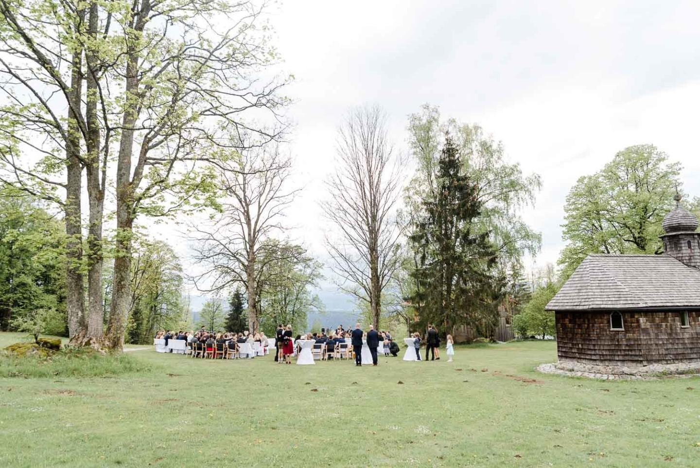 Freie Trauung in Bayern am Harlachberg