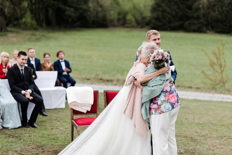 Gratulation zur Trauung, emotionale Momente Hochzeit