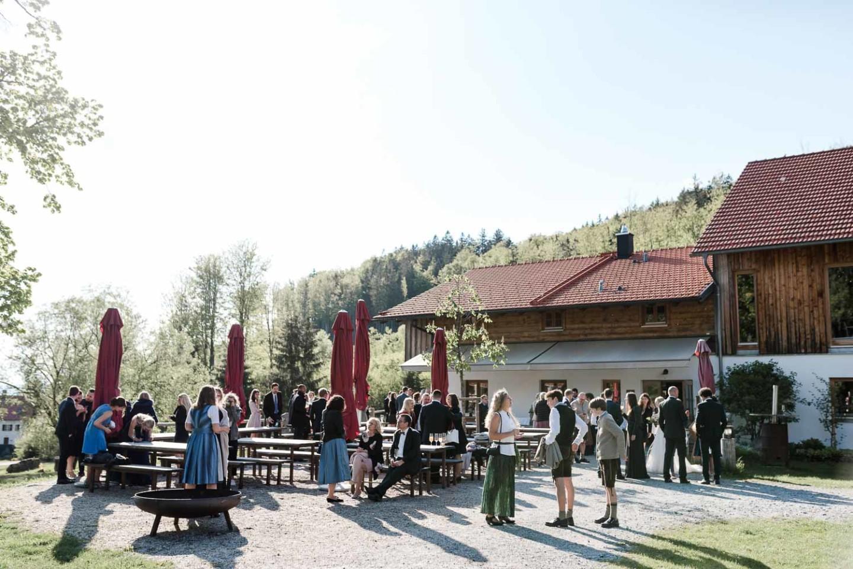 Hochzeitslocation Gutsalm Harlachberg