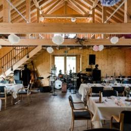 Alles steht bereit für die Hochzeit am Gutshof Harlachberg