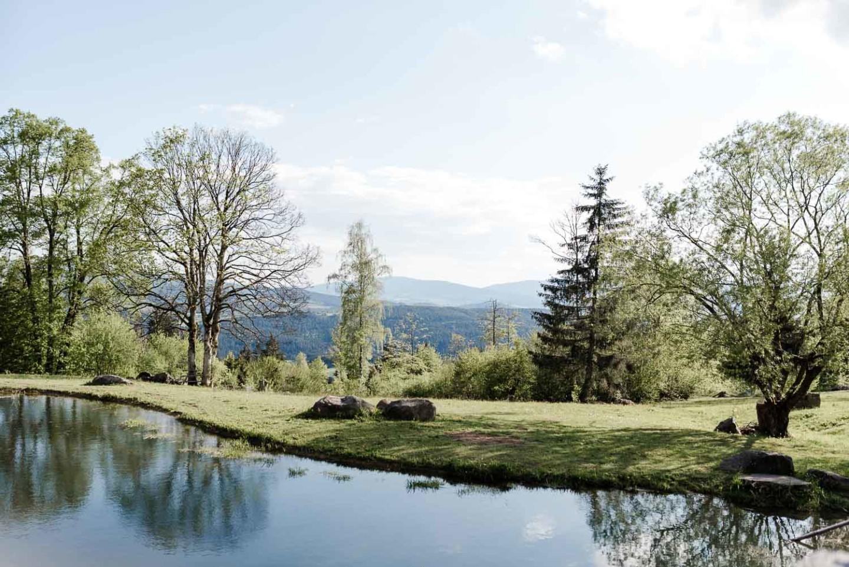 Ausblick Gutsalm Harlachberg
