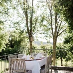 Sommerliches Ambiente zur Hochzeit in Schärding