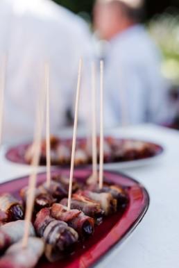 Finger Food für Hochzeiten mit Spießchen am Hofgut Hafnerleiten ind Schärding