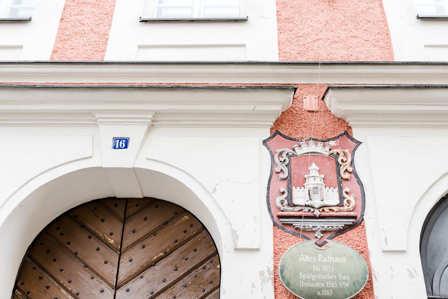 Standesamtliche Hochzeit im alten Rathaus