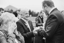Gratulationen zur Hochzeit von engeren Familienmitgliedern