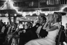 Lustige Momente am Hochzeitstag