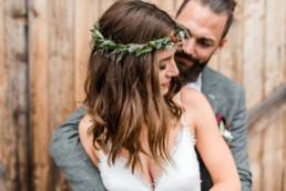 Brautpaar Shooting am Hochzeitsmorgen, aufgenommen von Hochzeitsfotografin Veronika Anna Fotografie