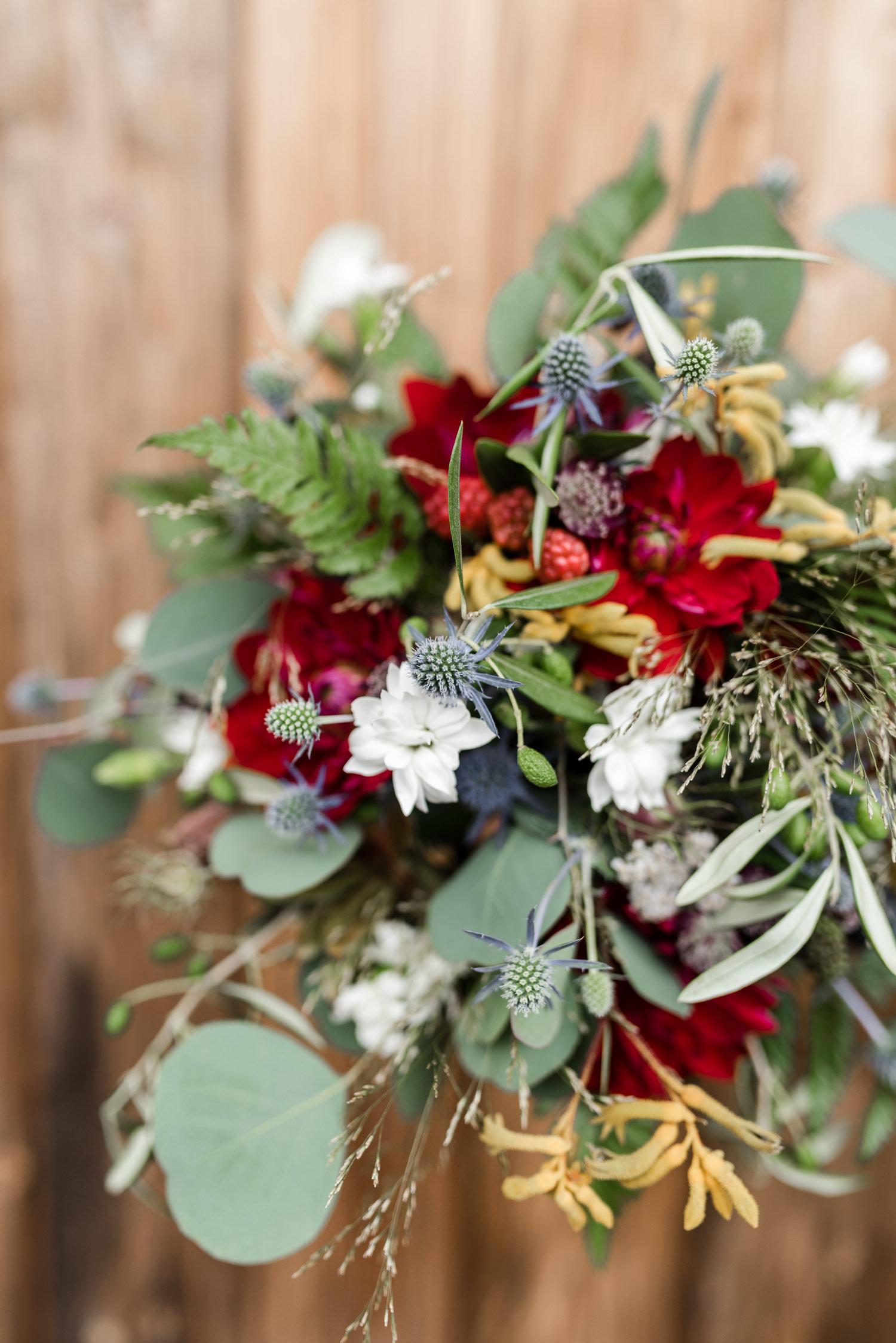 Brautstrauß in Nahaufnahme, von Veronika Anna Fotografie