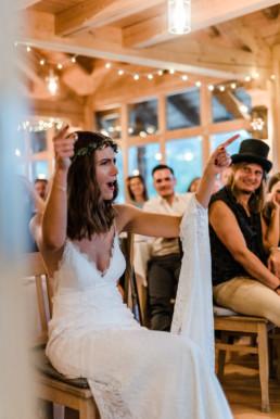 Hochzeitsfeier am Grandsberger Hof im bayerischen Wald. fotografiert von Veronika Anna Fotografie