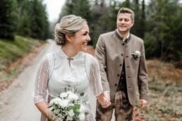 Standesamtliche Hochzeit in Deggendorf mit Shooting an der Rusel im bayerischen Wald, aufgenommen von Veronika Anna Fotografie Straubing