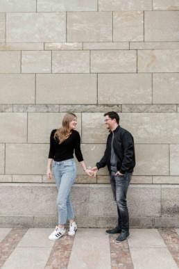 Paarbild vom Paarshooting in München fotografiert von Veronika Anna Fotografie in München