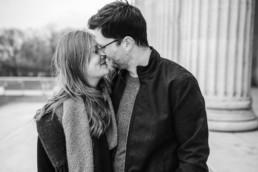 Kissing Couple fotografiert von Veronika Anna Fotografie in München