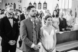 Kirchliche Hochzeit in Deggendorf, aufgenommen von Veronika Anna Fotografie Hochzeitsfotograf Straubing