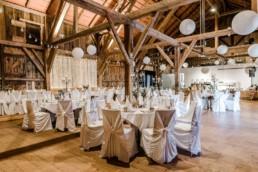 Zauberhafte Scheune als Hochzeitslocation am Wildberghof Buchet