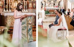 Kirchliche Trauung in Deggendorf, Natürliche Hochzeitsfotos von Hochzeitsfotografin Bayern Veronika Anna Fotografie
