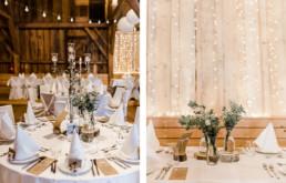 Scheunenhochzeit am Wilrd-Berghof Buchet mit wundervoller Dekoration aufgenommen von Veronika Anna Fotografie Hochzeitsfotografin Bayern
