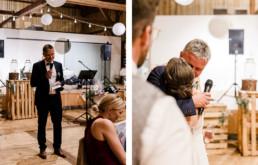 Rede des Brautvaters, aufgenommen von Hochzeitsfotograf Deggendorf Veronika Anna Fotografie