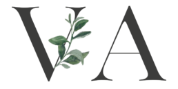 VA für Veronika Anna Fotografie im neuen Logo der Hochzeitsfotografin aus Bayern und bayerischer Wald