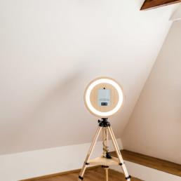 Fotobox Woidbox zu vermieten für Fotos und GIFs deiner Party in Bayern