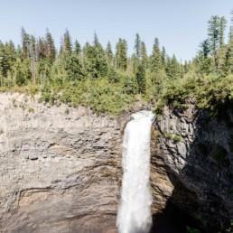 Wasserfall in Kanada, aufgenommen von Fotografin Veronika Anna Fotografie