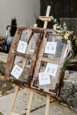 Hochzeitsdekoration bei Deggendorf im Nothaft Gewölbe.