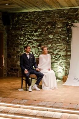 Brautpaar bei einer freien Trauung in Hengersberg.