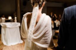 Brautkleid von der Braut fotografiert von Veronika Anna.