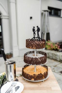 Hochzeitstorte fotografiert von Veronika Anna.
