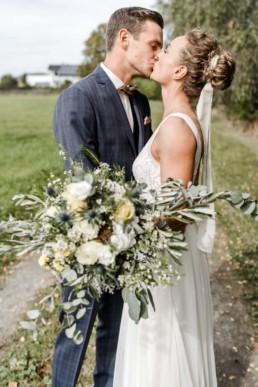Eine natürliche Hochzeitsreportage bei Deggendorf fotografiert von Veronika Anna Fotografie.