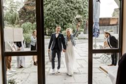 Brautpaar in der Hochzeitslocation